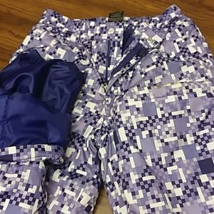 Girls Snow Pants Faded Glory size L/G 10-12